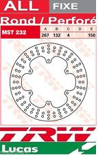 Disque de frein Avant TRW Lucas MST232 Yamaha XT 600 , E 3TB 1990-1994