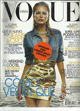 VOGUE, ESPAN EDITION,  MARCH, 2012   ( COMO VESTIR QUE * DEL WEEKEND ALCOCTEL )