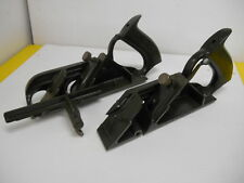 VINTAGE STANLEY # 78 DUPLEX RABBET WOOD PLANE SET OF 2 PLANES WITH GUIDE RAIL