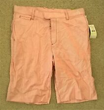 """Men's Penguin Heritage Fit Red & White Striped Shorts Size 30"""" - New With Tags"""
