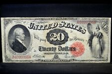 1880 $20 UNITED STATES NOTE ✪ VF VERY FINE ✪ FR-147 LEGAL TENDER 966◢TRUSTED◣