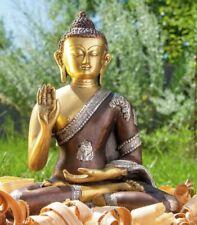 Amogasiddhi Buddha sitzend 3 Farbig