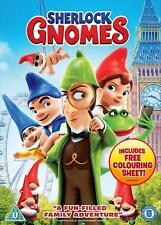 Sherlock Gnomes (dvd) 2018 DVD Region 2