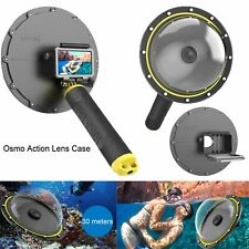 For DJI OSMO Action Underwater Diving Camera Lens Cover Dome Housing Shell Case