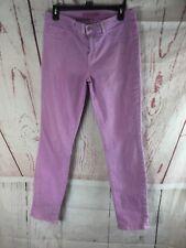 J Brand Women's Skinny Leg Jeans Purple Size 31
