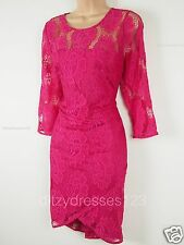 BNWT Coleen Lace Bodycon Dress Size 10 Stretch RRP £ 62