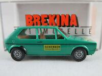 "Brekina 25519 VW Golf I (1974) ""SCHENKER messeService"" in grün 1:87/H0 NEU/OVP"