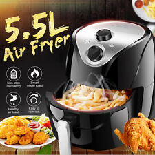5.5L 1500W Electric Air Fryer Cooker Oven Low Fat Health Free Food Fry Pan 220V
