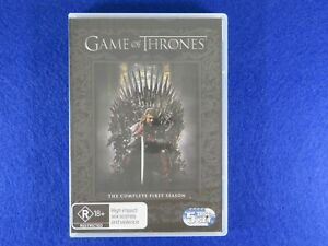 Game Of Thrones Season 1 - DVD - Free Postage !!