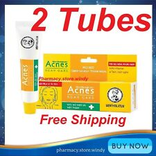 2 Tubes Mentholatum Acnes Scar Mark Spot Care Transparent Gel Acne Treatment