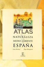 Libro Atlas de la Naturaleza y del Medio Ambiente en España. 1999 Atlas Book of
