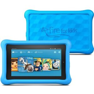 """Explosion Proof Tempered Glass Protector For Amazon Kindle Fire Kids Edition 7"""""""