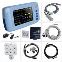 Handheld 6-Parameter Vital sign Monitor Patient Monitor ECG NIBP Spo2 Pulse Rate