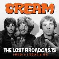 Cream : The Lost Broadcasts: London & Stockholm 1967 CD (2018) ***NEW***