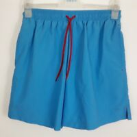 "MARKS AND SPENCER M&S BLUE HARBOUR MENS BLUE SHORTS SIZE SMALL S 30"" 32"" WAIST"