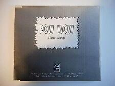 POW WOW : MARIE JEANNE (JOE DASSIN PROMO) [ CD-MAXI PORT GRATUIT ]
