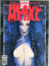 HEAVY METAL January March May 1990, Prado, Ortiz, Olivia, 3 issues in all