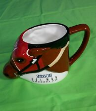 SEABISCUIT RACE HORSE THOROUGHBRED DELMAR COFFEE CUP