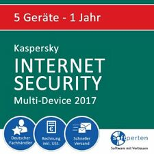 Kaspersky Internet Security 2017 - Multi-Device, 5 Geräte - 1 Jahr, ESD