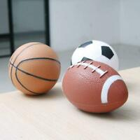 3x Soft Sports Ball Set Basketball Football NFL Rugby Christmas Toy Children's