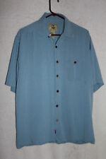 Joe Marlin Hawaii Shirt 100% Silk with embroidered patch on back.