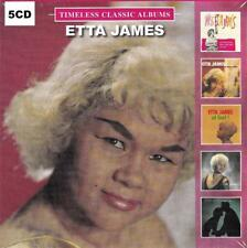 ETTA JAMES - TIMELESS CLASSIC ALBUMS (NEW SEALED 5CD)