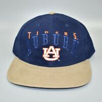 Auburn Tigers Vintage 90's Twins Enterprise Adjustable Strapback Cap Hat - NWT