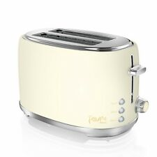 Swan Fearne 800W 2 Slice Pale Honey Coloured Toaster ST20010HON