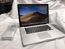 "Apple MacBook Pro 15"" 2.7 i7-3615QM 16GB 256GB SSD A1286 MD103LL/A NEW BATTERY."