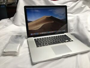 "Apple MacBook Pro 15"" 2.7 i7-3615QM 16GB 256GB SSD A1286 MD103LL/A NEW BATTERY."