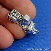 Silver PICKUP TRUCK Vehicle CHARM PENDANT *NEW*