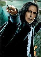 Harry Potter Professor Snape with Wand Photo Image Refrigerator Magnet NEW