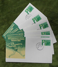 #T58. 1982 Commonwealth Games Archery Fdc Set