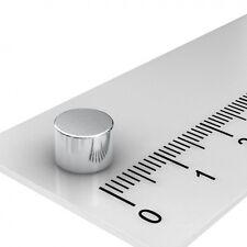 50x NEODYM SCHEIBEN MAGNET, 7 x 5 mm, Grade N45, MAGNETTAFEL, PINNWAND