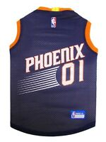 Phoenix Suns NBA Officially Licensed Pets First Dog Pet Mesh Purple Jersey