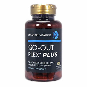 Go-Out Plex Plus  by Mt Angel - 60 Capsules