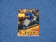 MARVIN HARRISON INDIANAPOLIS COLTS SYRACUSE 1996 PINNACLE ON THE LINE
