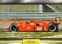 FERRARI F 187 / F 188 C ( F187 F188 ) 1988 : Fiche Auto Collection