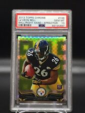 2013 Le'Veon Bell Topps Chrome Xfractor RC Rookie PSA 10 Gem Mint