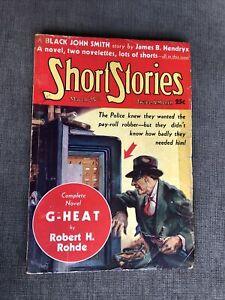 SHORT STORIES - 3/25/36 !