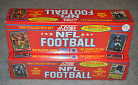 1990 Score Football Factory Set 665 cards 2 count lot NEW SEALED