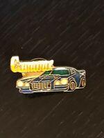 Collectible Vintage Camaro Chevrolet Colorful Metal Pinback Lapel Pin Hat Pin