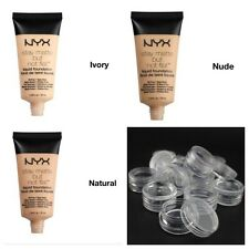 NYX Stay Matte But Not Flat Liquid Foundation 1g,2g sample size