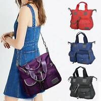 UK Travel Multi Pocket Tote Large Capacity Crossbody Shoulder Bag Ladies Handbag