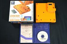 Complete in Box Nintendo Gamecube Game Boy Player Spice Orange Japanese NTSC-J