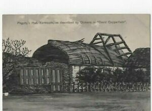 PEGOTTY'S HUT GREAT YARMOUTH  NORFOLK  POSTED 19/07/1910