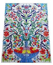 Riesen Fliesenbild handbemalte Fliesen Obstkorb 1,05 Meter Mosaikfliesen TOP