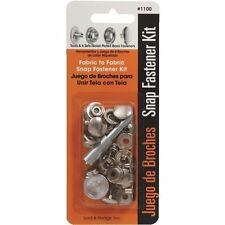 SNAP FASTENER KIT WITH FLARING TOOL AND SETTING BASE