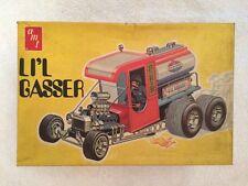 AMT Li'l GASSER  T302-225 Model Car Kit Vintage open box Assembly Started