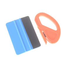 2pcs/set Zippy Vinyl Safety Cutter Felt Edge Squeegee Scraper Car Wrapping'Tools
